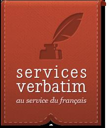 Service Verbatim